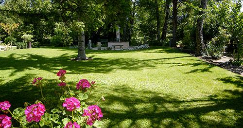 Gite Luberon avec parc